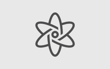Icon for Nuclear section - Icon is an atom graphic