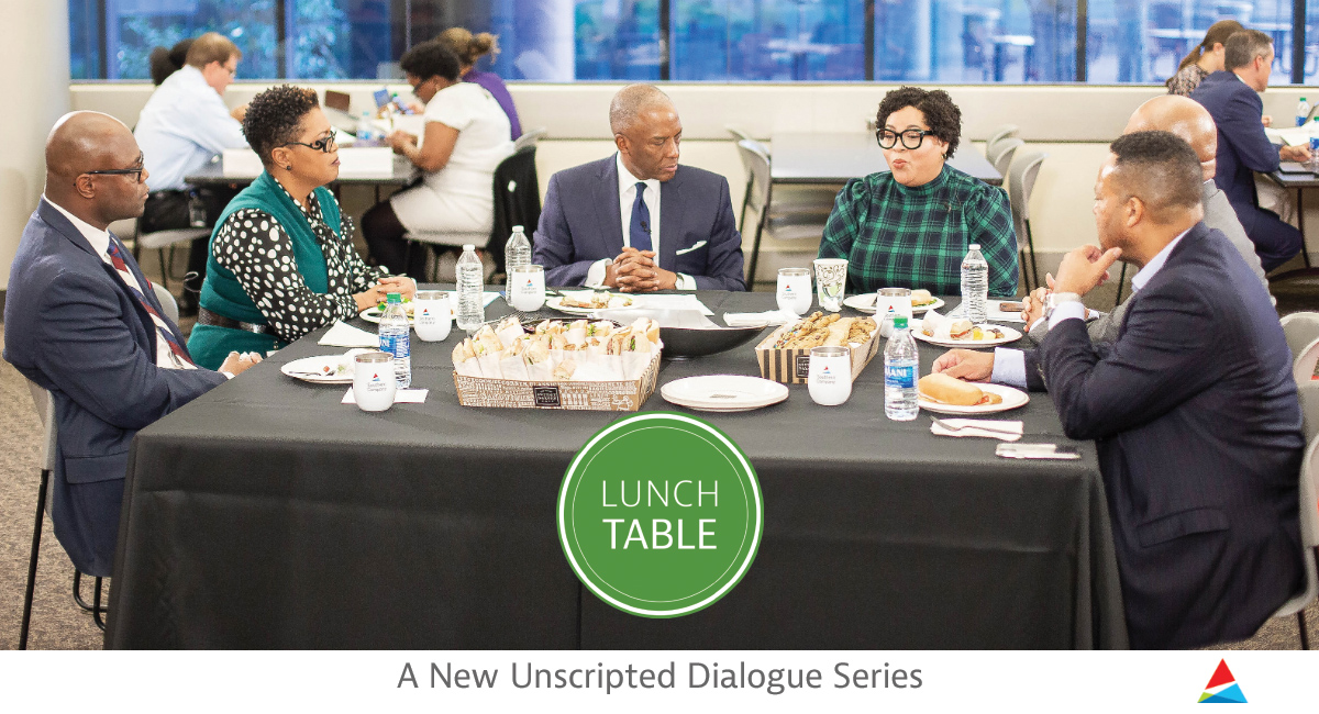 Lunch Table: unscripted conversation
