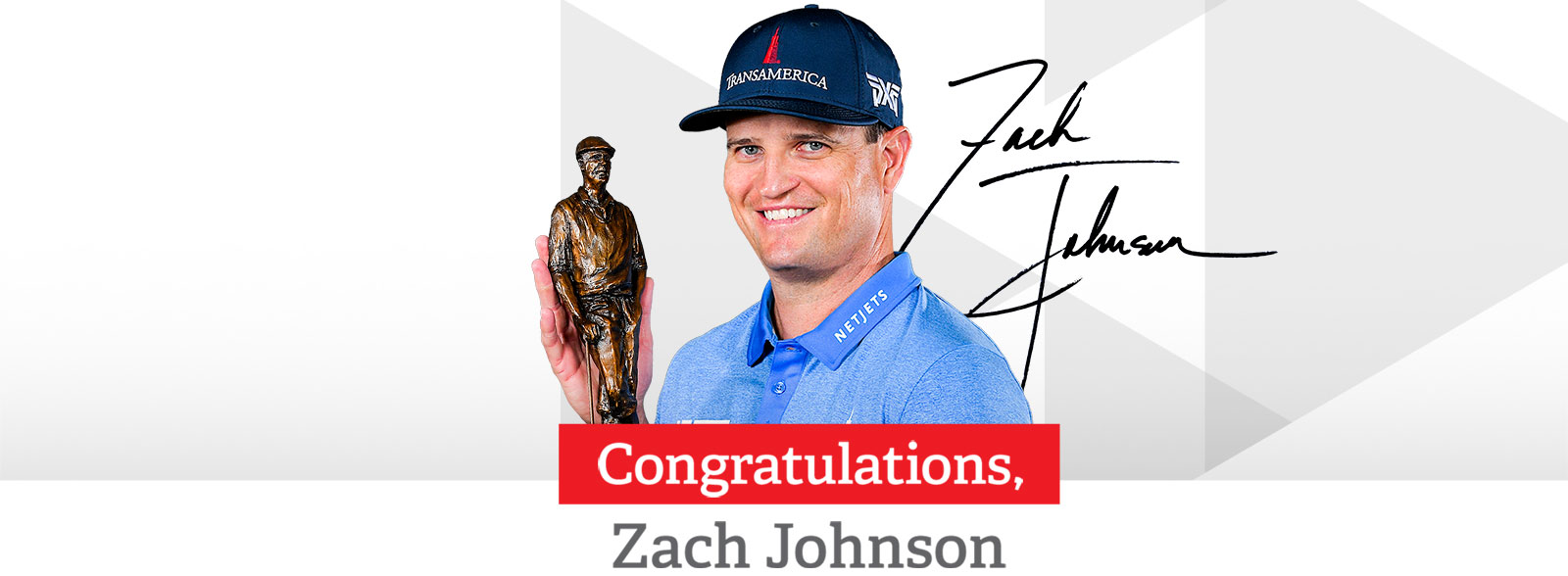 2020 Payne Stewart Award recipient Zach Johnson