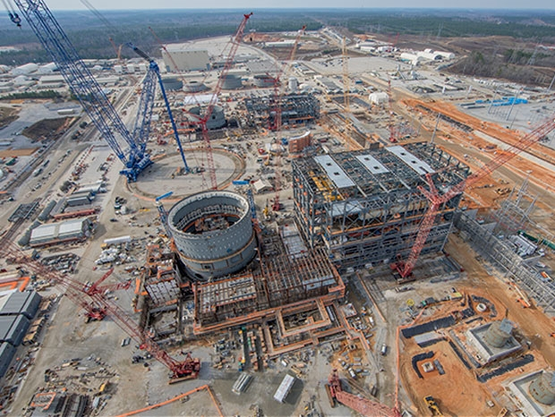 Plant Vogtle 3 and 4 consutruction site