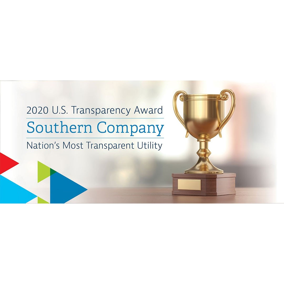 Southern Company Most Transparent Company