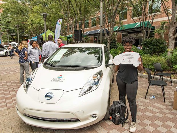 Electric Vehicle Giveaway Winner