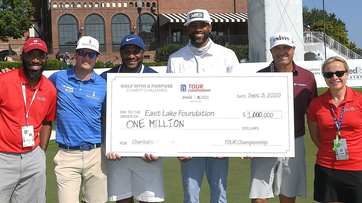 Donation to East Lake Foundation