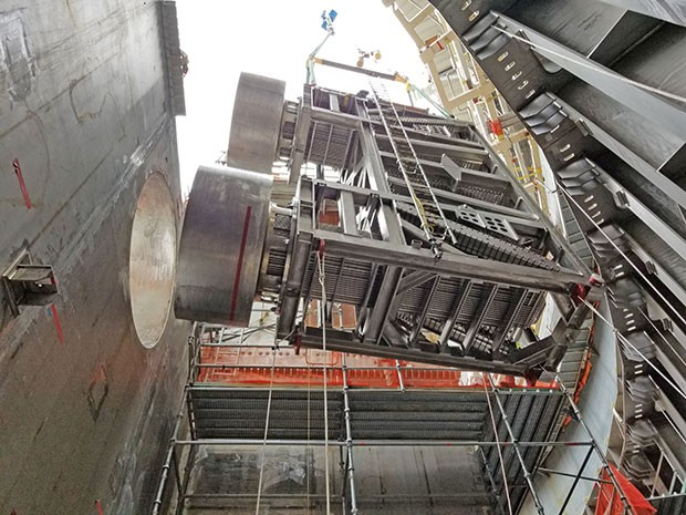 Vogtle Unit 3 PRHR heat exchanger