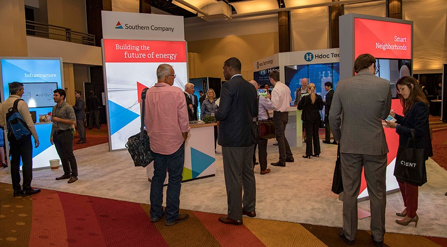 Southern Company booths at Smart Cities conference