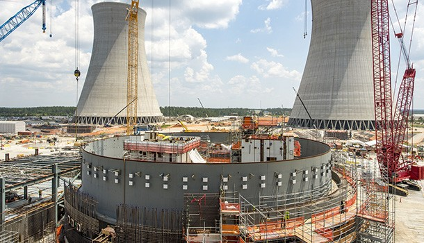 Vogtle 3 & 4 construction