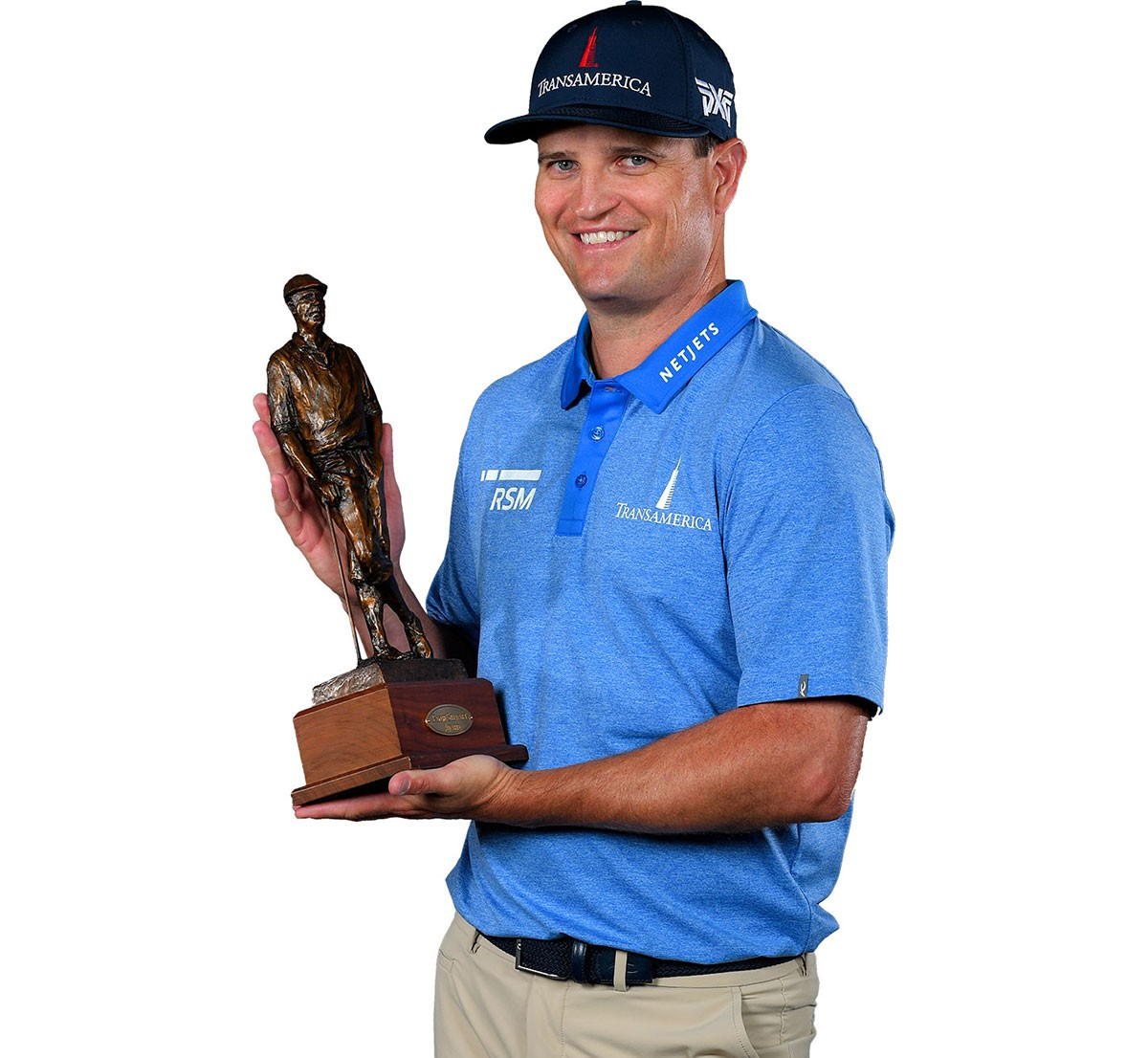 Zach Johnson 2020 Payne Stewart Award recipient