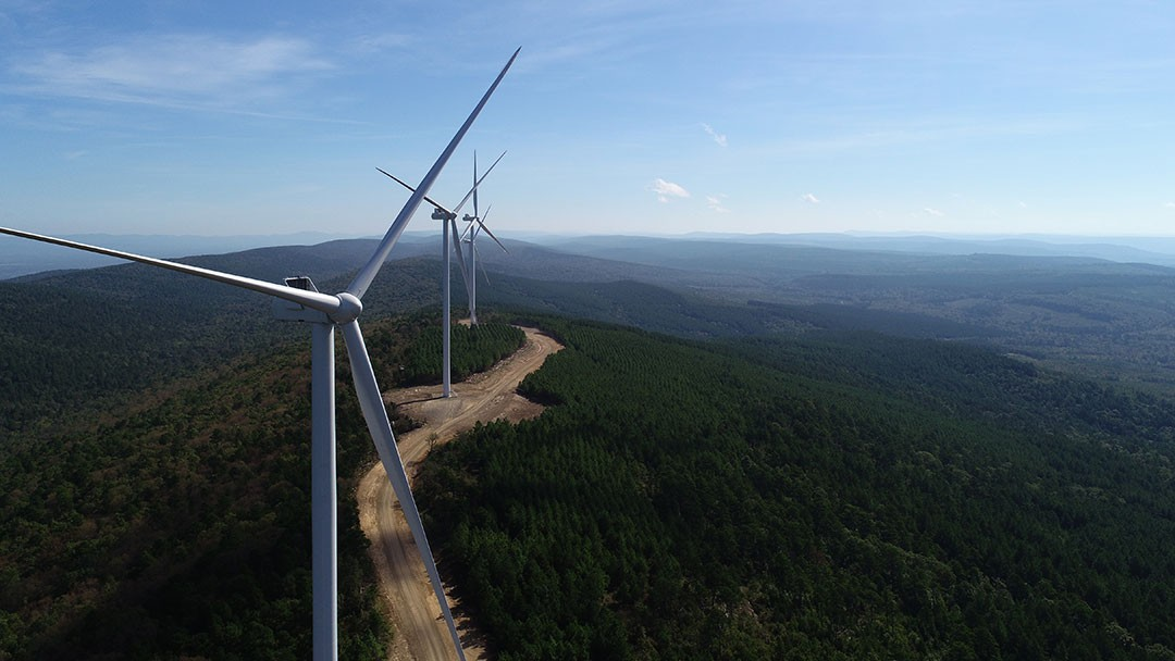 Wildhorse Mountain Wind Facility